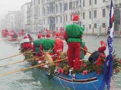 4° Corteo acqueo dei Babbi Natale – Domenica 17 dicembre 2017